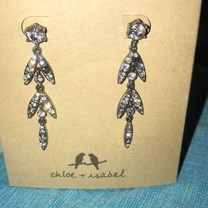 chloe and isabel dangly earrings